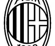 Coloriage Football A.C Milan