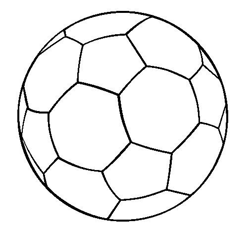 Coloriage et dessins gratuits Football ballon couleur à imprimer