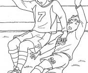 Coloriage et dessins gratuit Football maternelle à imprimer