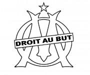 Coloriage et dessins gratuit Football Olympique de Marseille à imprimer