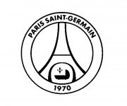 Coloriage et dessins gratuit Football Paris Saint Germain à imprimer