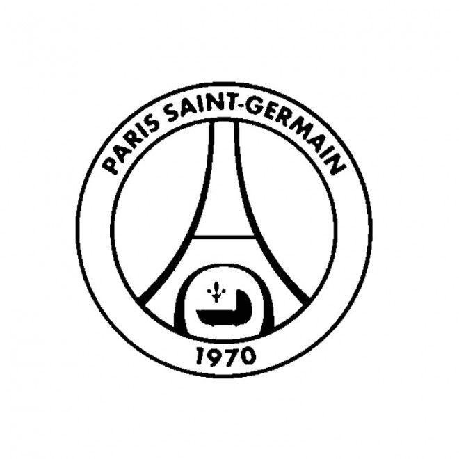 Coloriage Football Paris Saint Germain Dessin Gratuit à Imprimer