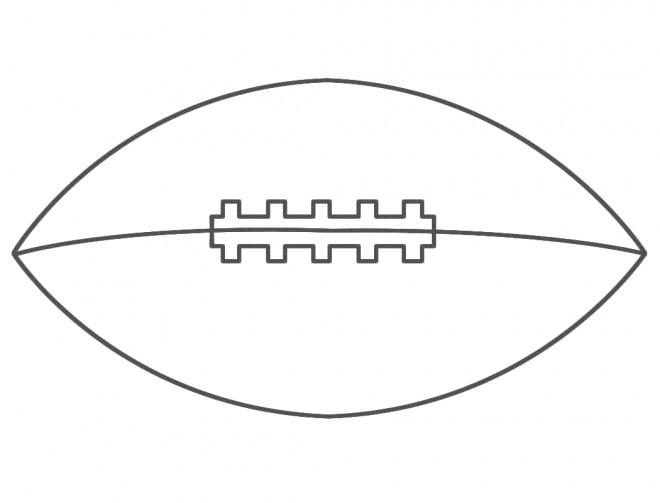 Coloriage et dessins gratuits Rugby facile à imprimer