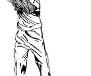 Coloriage Golf adulte au crayon