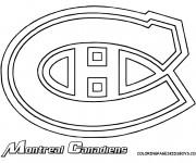 Coloriage dessin  Hockey 6