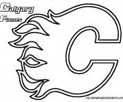 Coloriage et dessins gratuit Hockey Canadien à imprimer