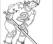 Coloriage Sport de Hockey
