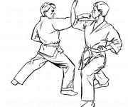 Dessiner en ligne vos coloriages préférés de Karate