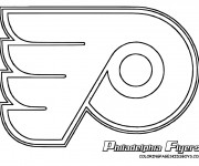 Coloriage Hockey Philadelphia Flyers
