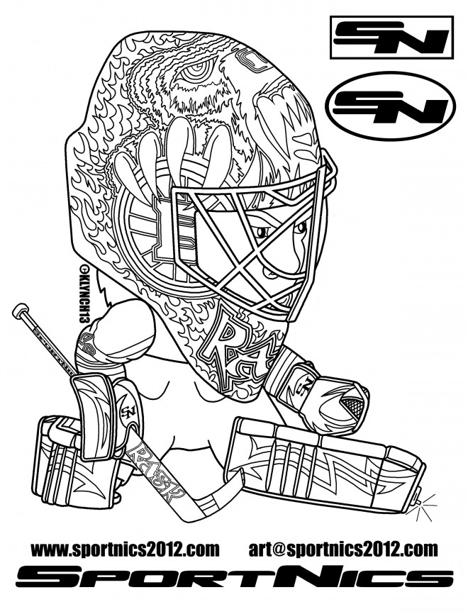 sports coloring pages hockey jerseys-#38