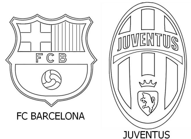 fc barcelona logo kleurplaat ausmalbilder fuball wappen