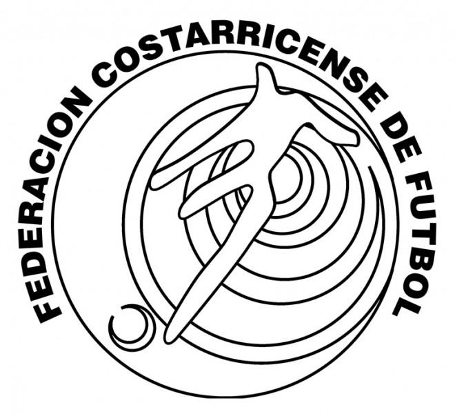Coloriage et dessins gratuits Équipe du Costa Rica de football à imprimer