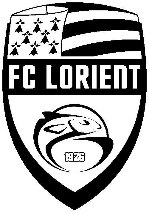 Coloriage et dessins gratuits F.C Lorient à imprimer