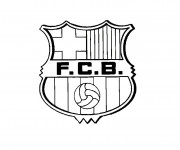 Coloriage Foot Barcelone