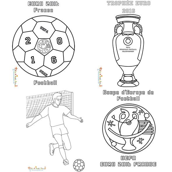 Coloriage et dessins gratuits Foot et Trophées à imprimer