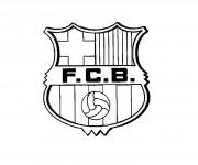 Coloriage dessin  Football 8