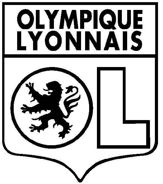 Coloriage et dessins gratuits Football Olympique Lyonnais à imprimer