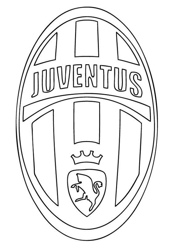Coloriage et dessins gratuits La Juventus de turin à imprimer
