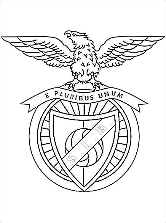 Coloriage logo de club de benfica dessin gratuit imprimer - Coloriage drapeau portugal ...