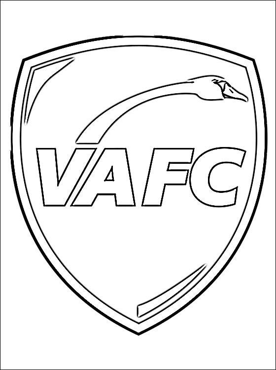 Coloriage et dessins gratuits Logo de Club Valenciennes à imprimer
