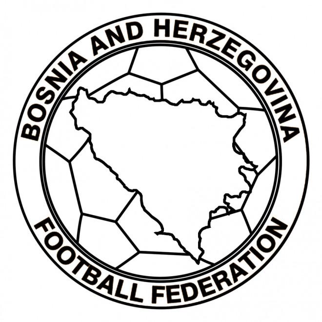 Coloriage Logo De De Bosnie Herzegovine De Football