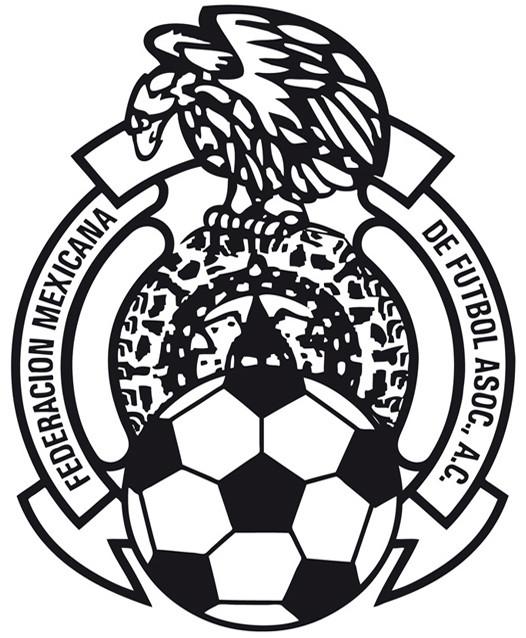 Coloriage et dessins gratuits Logo de Fédération de foot du mexique à imprimer