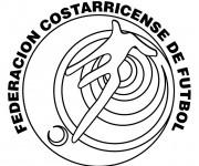 Coloriage dessin  Logo de Foot 11