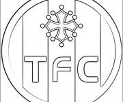 Coloriage dessin  Logo de Foot 14