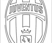 Coloriage dessin  Logo de Foot 3