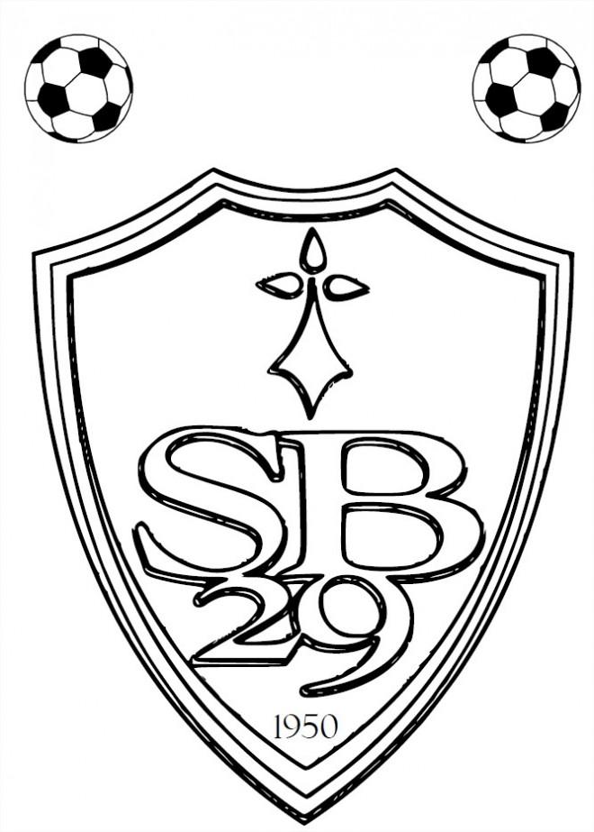 Coloriage logo de foot 36 dessin gratuit imprimer - Image de foot a imprimer ...