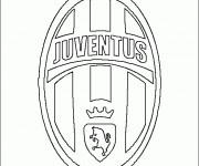 Coloriage et dessins gratuit Logo Juve Italien à imprimer