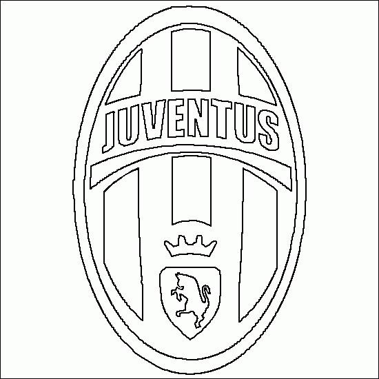 Coloriage Logo Juve Italien Dessin Gratuit A Imprimer