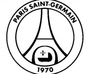 Coloriage Logo PSG
