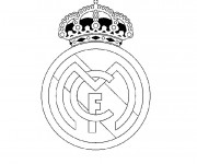 Coloriage Logo Real Madrid