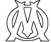 Coloriage logo de foot gratuit imprimer liste 20 40 - Logo de l olympique de marseille ...