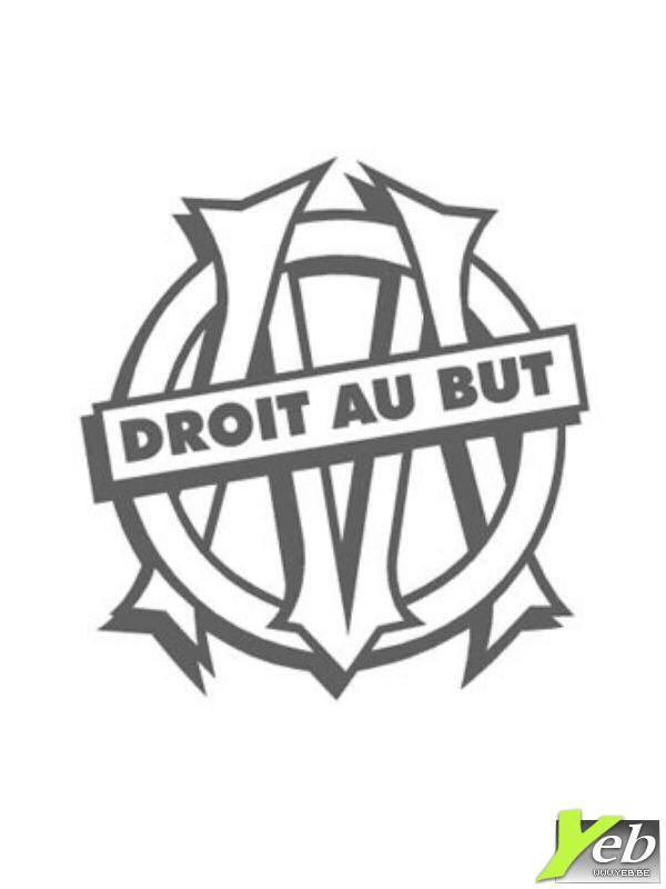 Coloriage et dessins gratuits Olympique Marseille en couleur à imprimer