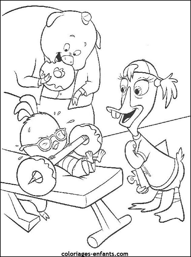 Coloriage et dessins gratuits Musculation pour enfant à imprimer