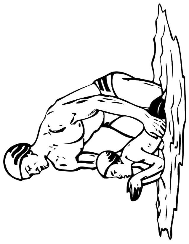 Coloriage et dessins gratuits Maître-nageur à imprimer
