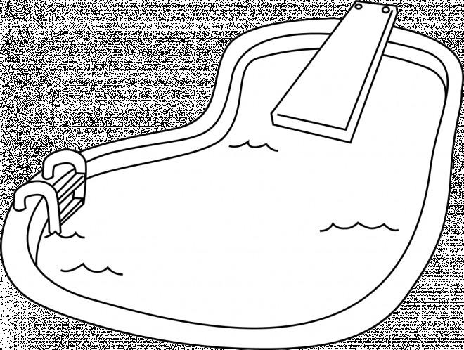coloriage un petit piscine dessin gratuit imprimer. Black Bedroom Furniture Sets. Home Design Ideas