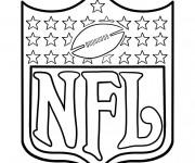 Coloriage et dessins gratuit NFL 1 à imprimer