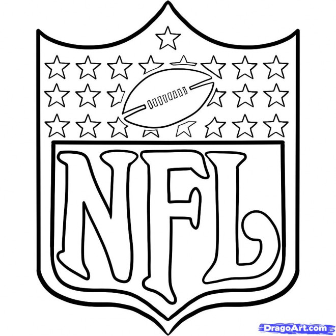 Coloriage et dessins gratuits NFL 1 à imprimer