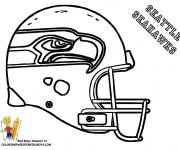 Coloriage et dessins gratuit NFL 10 à imprimer