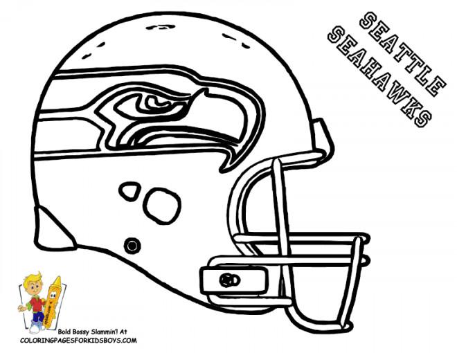 Coloriage et dessins gratuits NFL 10 à imprimer