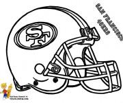 Coloriage et dessins gratuit NFL 11 à imprimer