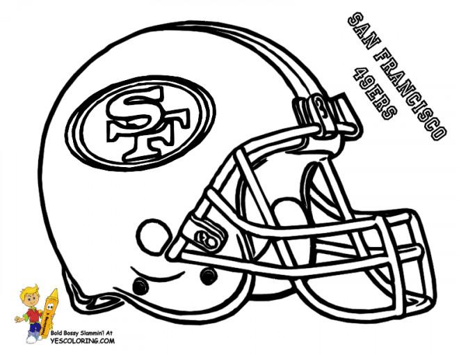 Coloriage et dessins gratuits NFL 11 à imprimer