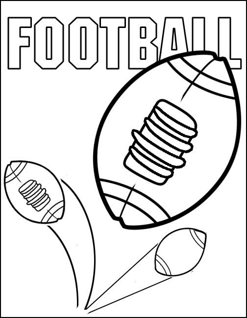 Coloriage et dessins gratuits NFL 12 à imprimer