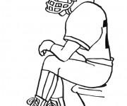 Coloriage et dessins gratuit NFL 13 à imprimer