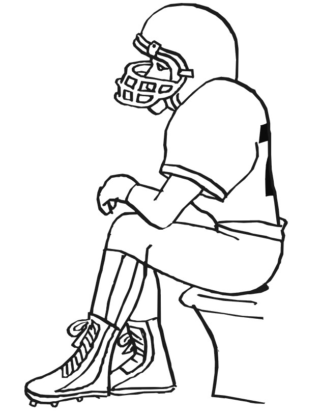 Coloriage et dessins gratuits NFL 13 à imprimer
