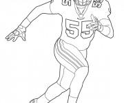 Coloriage et dessins gratuit NFL 14 à imprimer