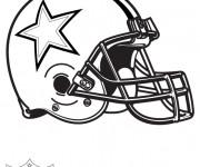 Coloriage et dessins gratuit NFL 15 à imprimer